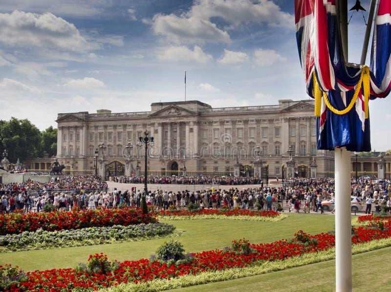 Posto di Buckingham fotografia stock libera da diritti