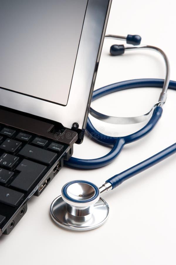 Posto di lavoro del medico - concetto medico fotografia stock libera da diritti