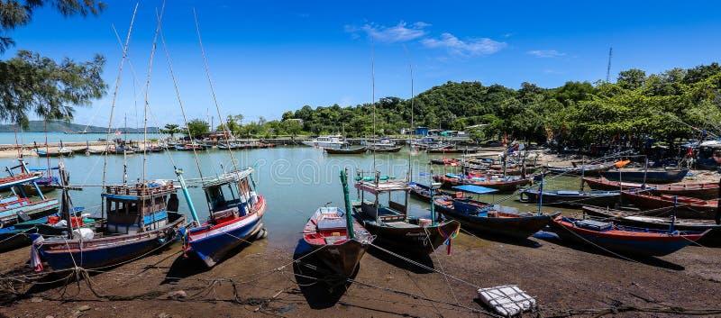 Posto di parcheggio della barca fotografia stock libera da diritti