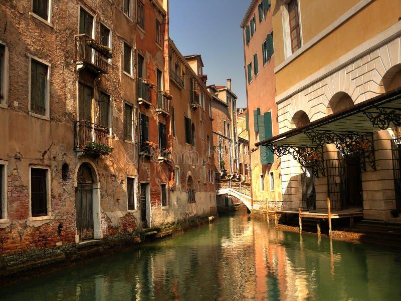 Posto romantico a Venezia fotografie stock