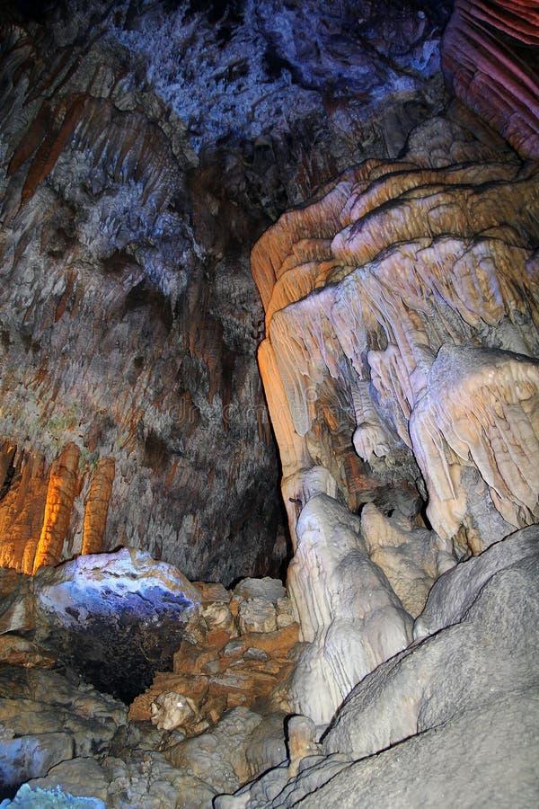postojna известняка подземелья стоковое фото