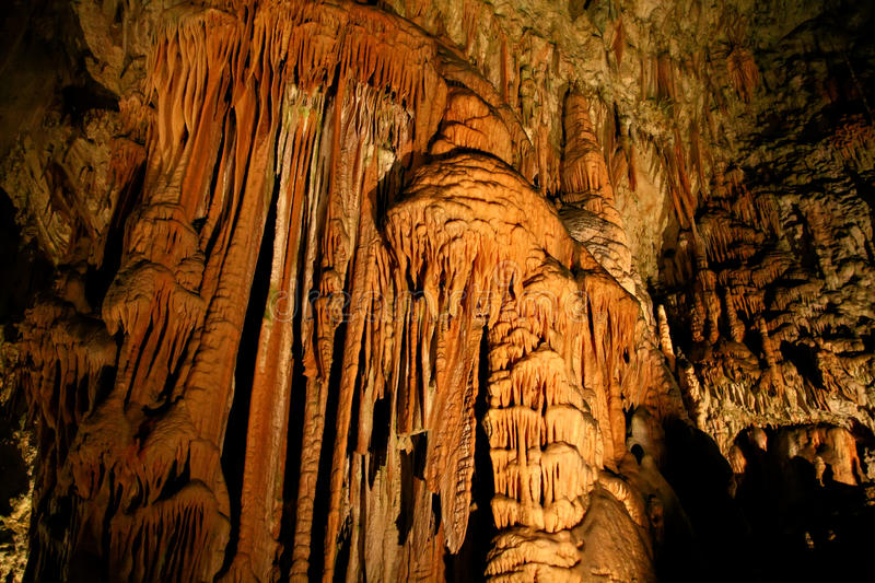 Postojna Cave royalty free stock photography