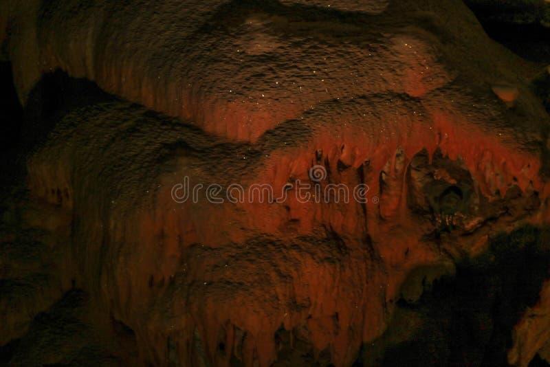 Postojna-Höhle, Slowenien Bildungen innerhalb der Höhle mit Stalaktiten und Stalagmiten lizenzfreie stockfotos