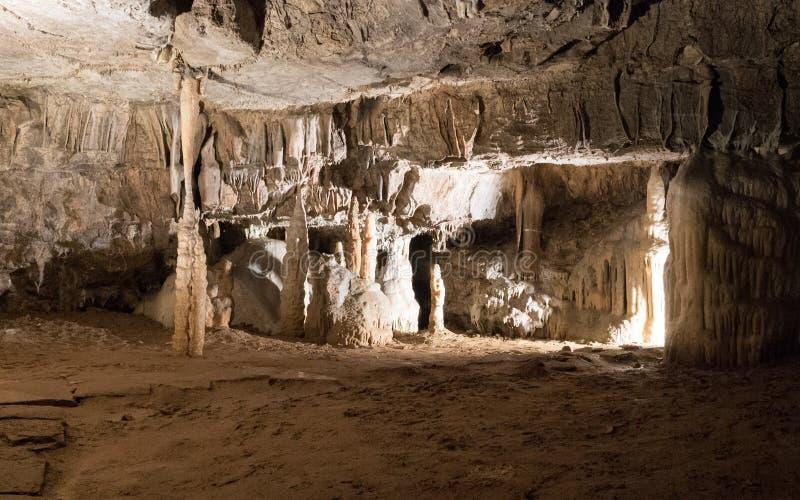 Postojna-Höhlen lizenzfreie stockfotografie