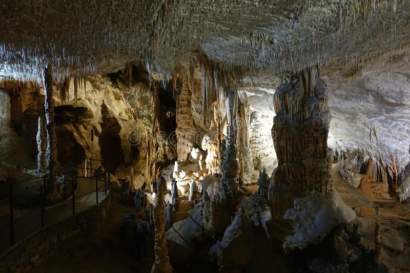 Postojnahol, Slovenië, Europa royalty-vrije stock foto