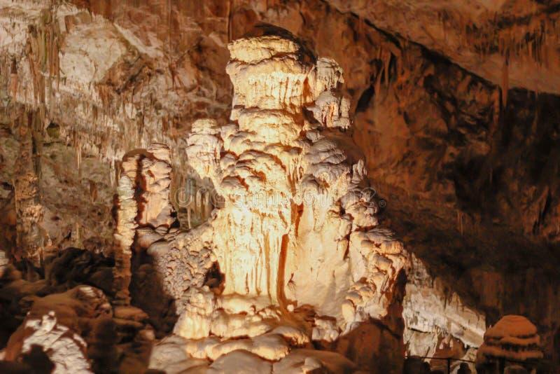 Postojnskajama | Hol | Grotte royalty-vrije stock foto's