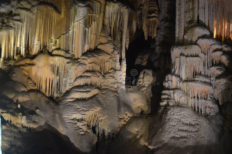 Postonja Jama Caves imagem de stock