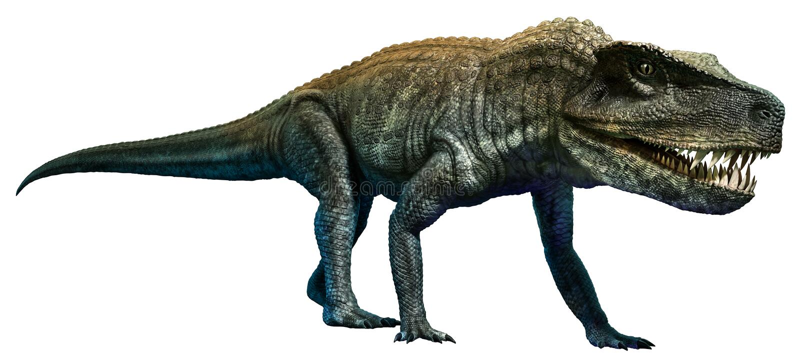Postosuchus ilustracja wektor