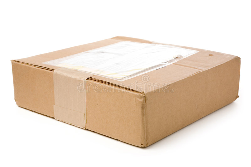 postpacke arkivfoto