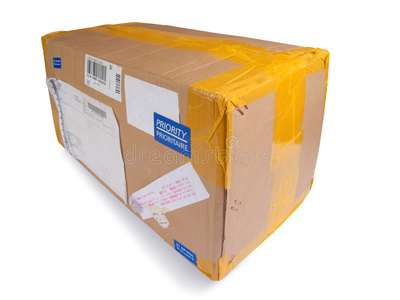 postpacke royaltyfria bilder