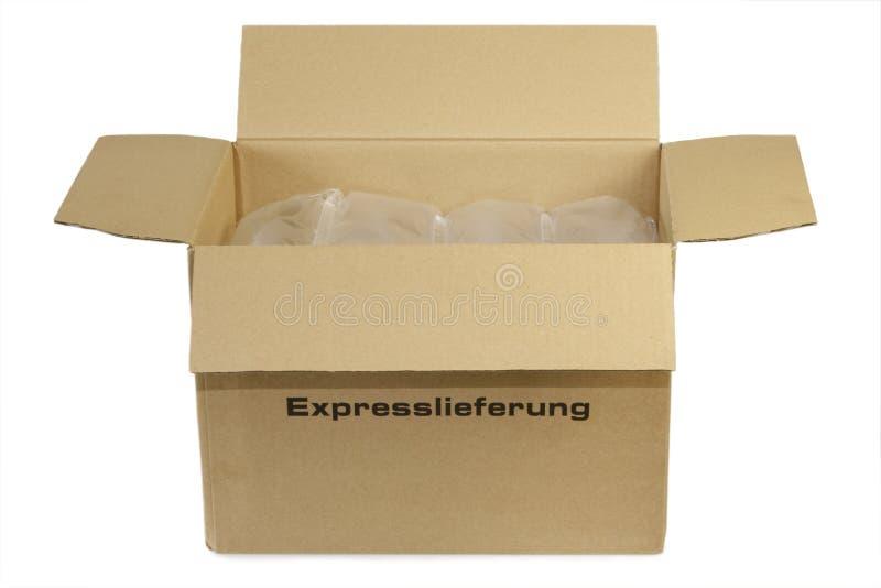 Postpaket lizenzfreie stockfotos