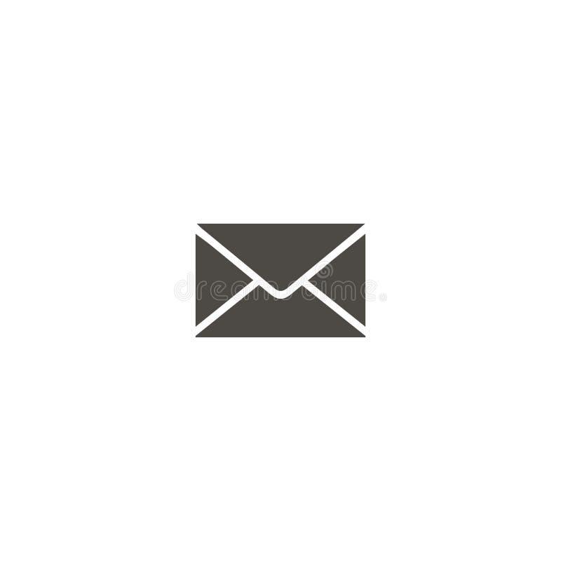Postpictogram e-mail Vectorpictogram voor Web vector illustratie