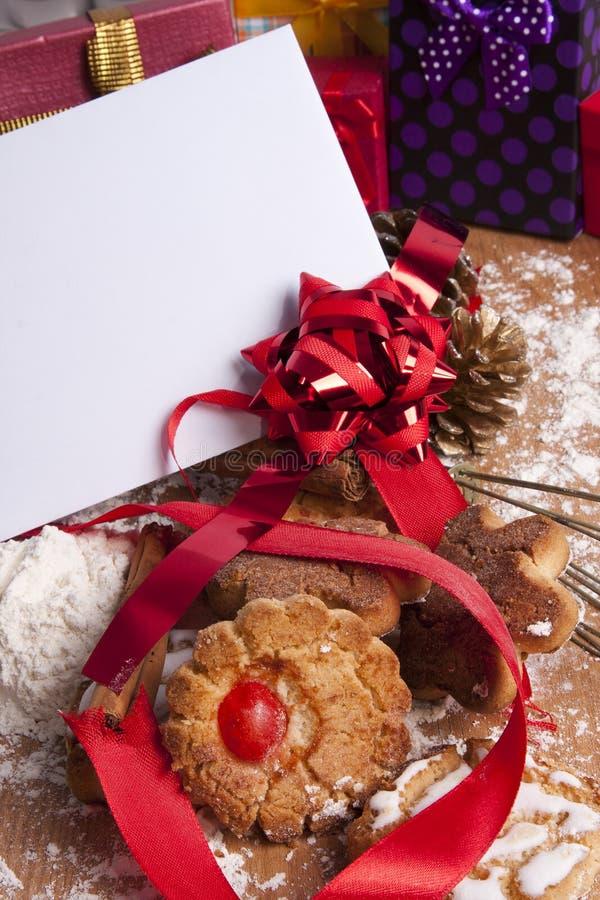 Postre de la Navidad fotografía de archivo libre de regalías