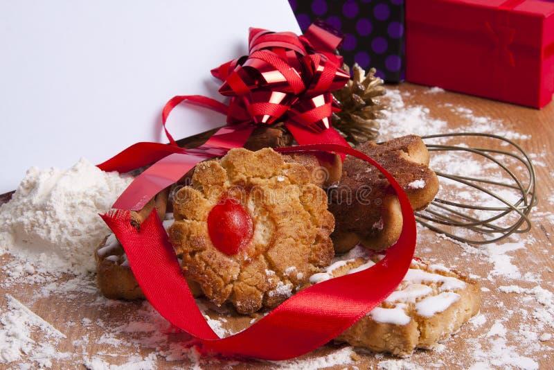 Postre de la Navidad fotografía de archivo