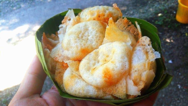 Postre de los hotcakes asados a la parrilla tradicionales tailandeses del caramelo, dulces y sabrosos del coco-arroz imágenes de archivo libres de regalías