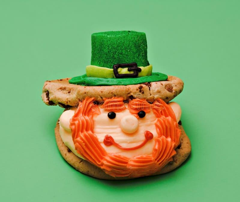 Postre del St. Patrick imagen de archivo