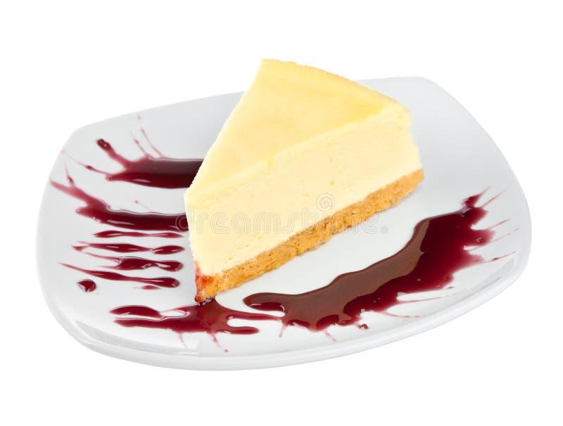 Postre - pastel de queso imagen de archivo