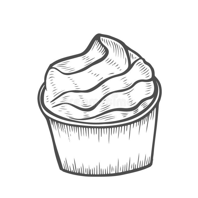 Postre y dulce aislados libre illustration