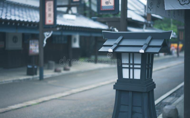 Posts al aire libre decorativos de la luz de la lámpara fotografía de archivo