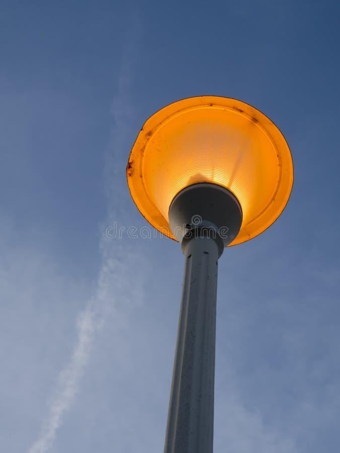 Posts de la lámpara del Lit foto de archivo libre de regalías