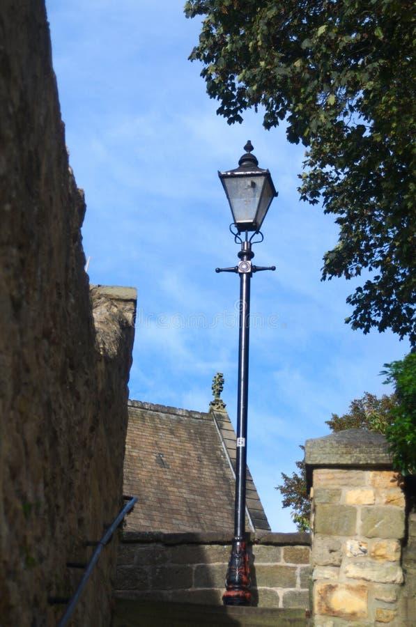 Posts de la lámpara en knaresbourgh fotos de archivo libres de regalías