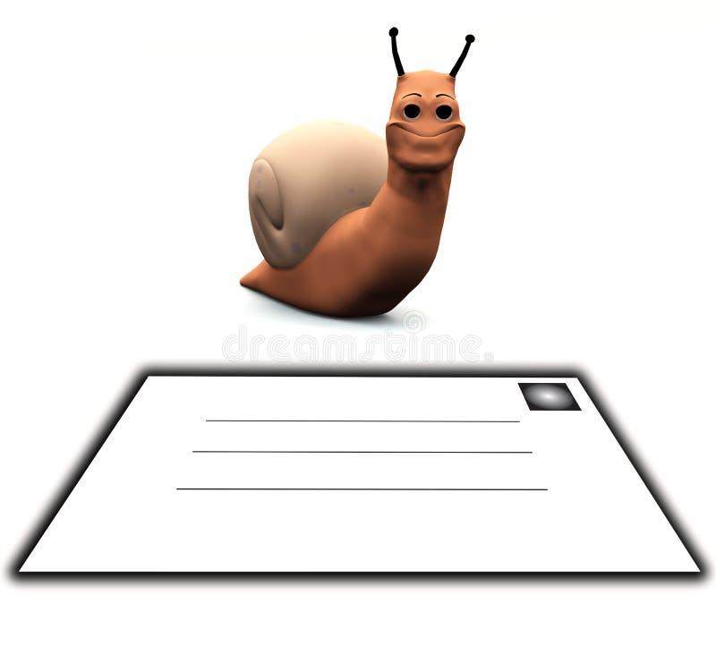 Postsnail Arkivbild