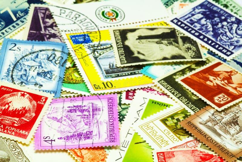 Poststempel lizenzfreie stockfotografie
