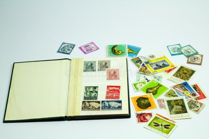 Poststempel stockbild