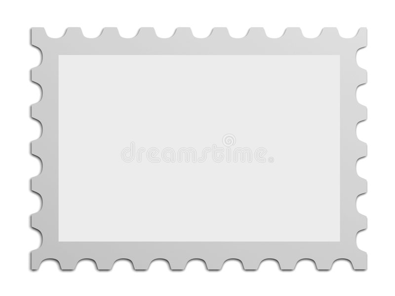 Poststempel stock abbildung