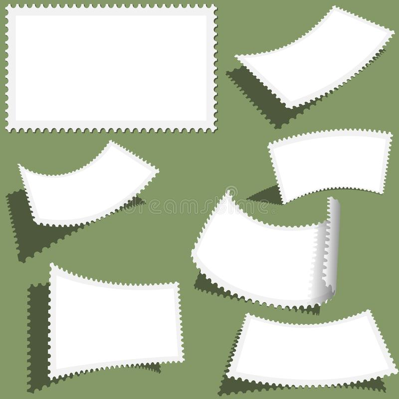 Poststempel-Satz vektor abbildung