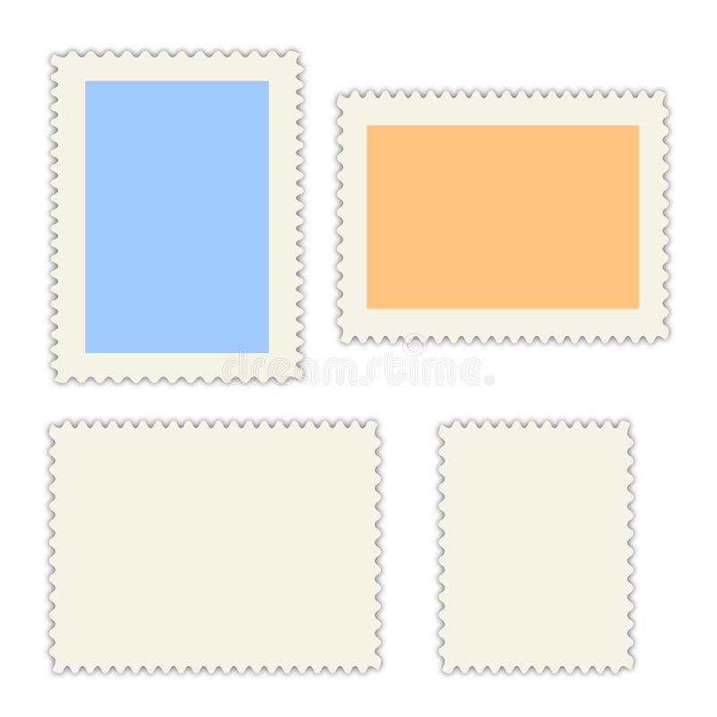 Poststempelleerzeichen stock abbildung