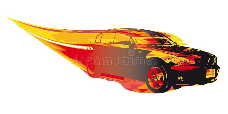 postu samochodowy wektor royalty ilustracja