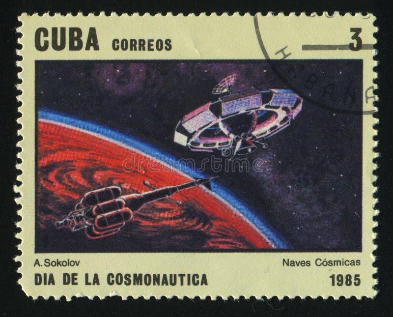 Postzegel royalty-vrije stock afbeelding