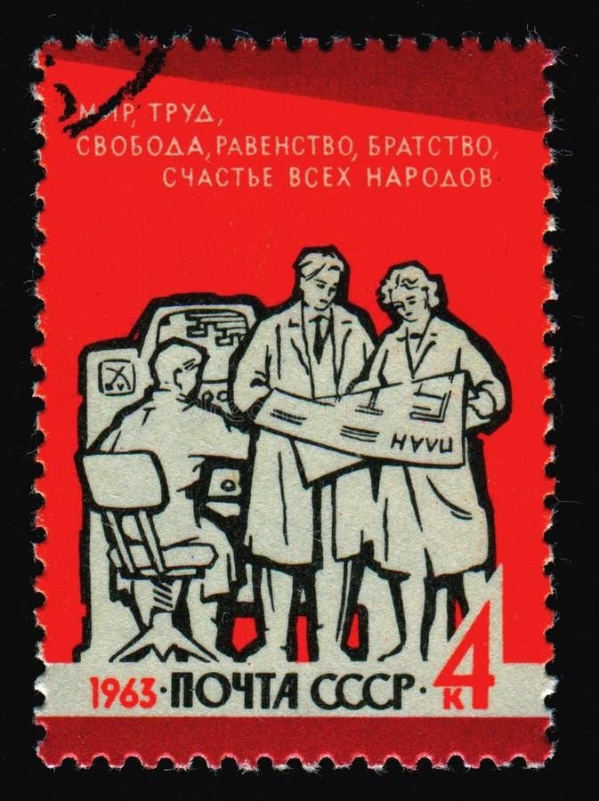 Postzegel royalty-vrije stock fotografie