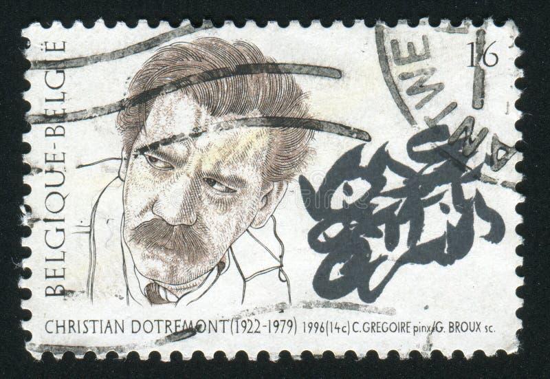 Postzegel Oostenrijk royalty-vrije stock foto