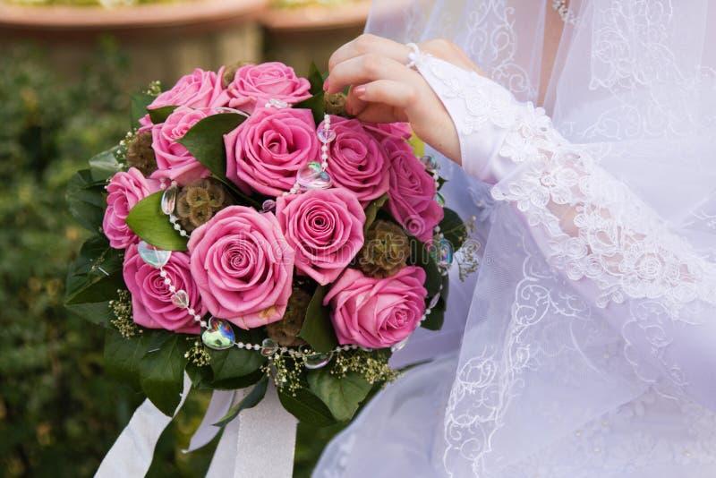 Posy della sposa immagine stock