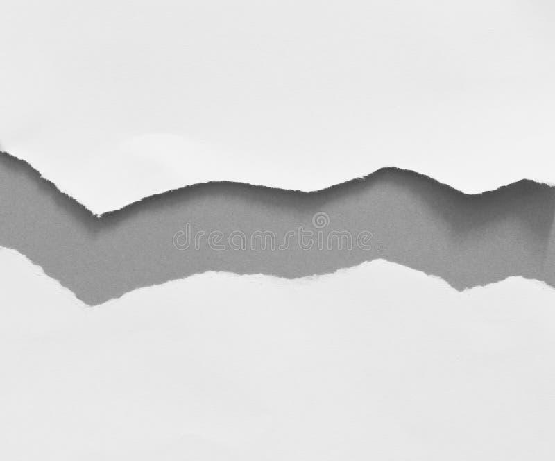 Poszarpany rozprucie papier obraz stock