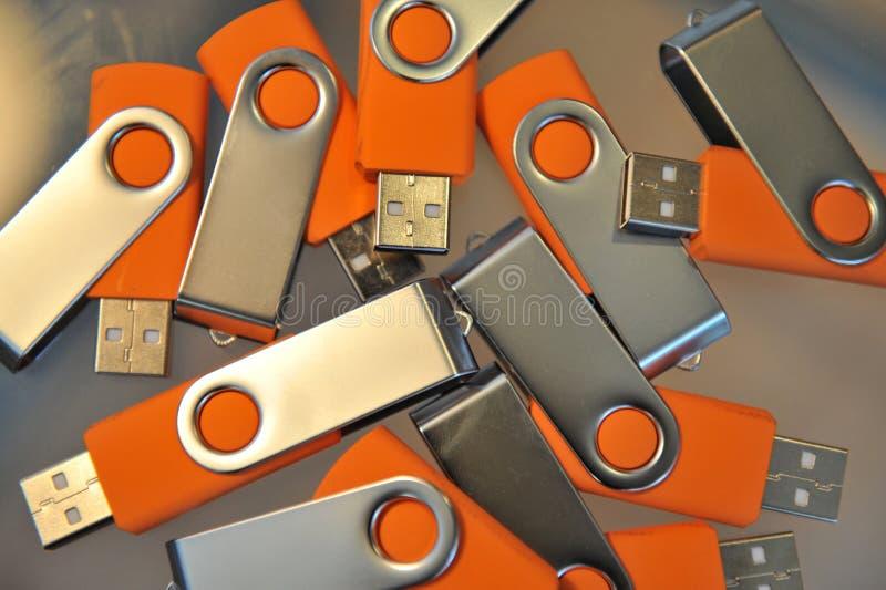 Potência da vara do USB fotografia de stock