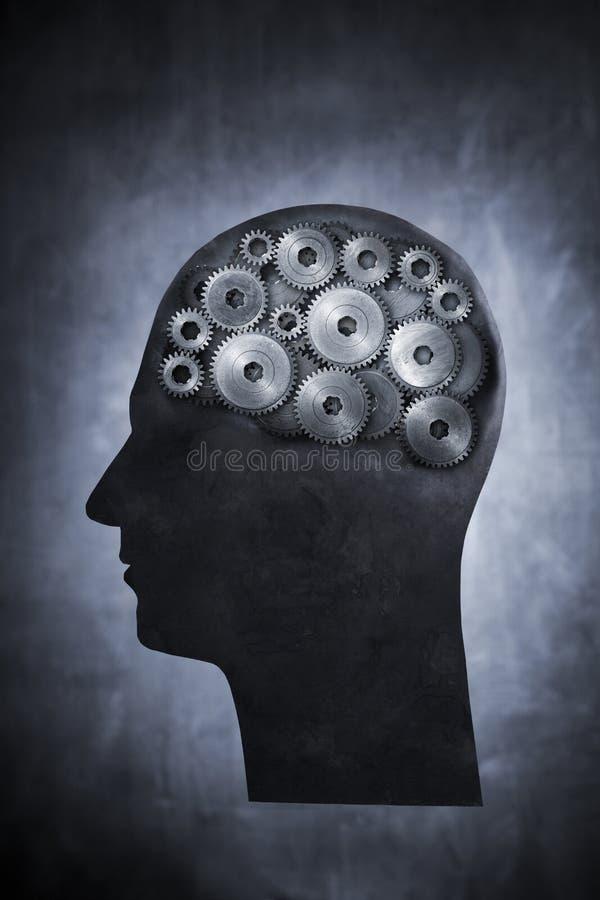 Potência de cérebro fotografia de stock royalty free