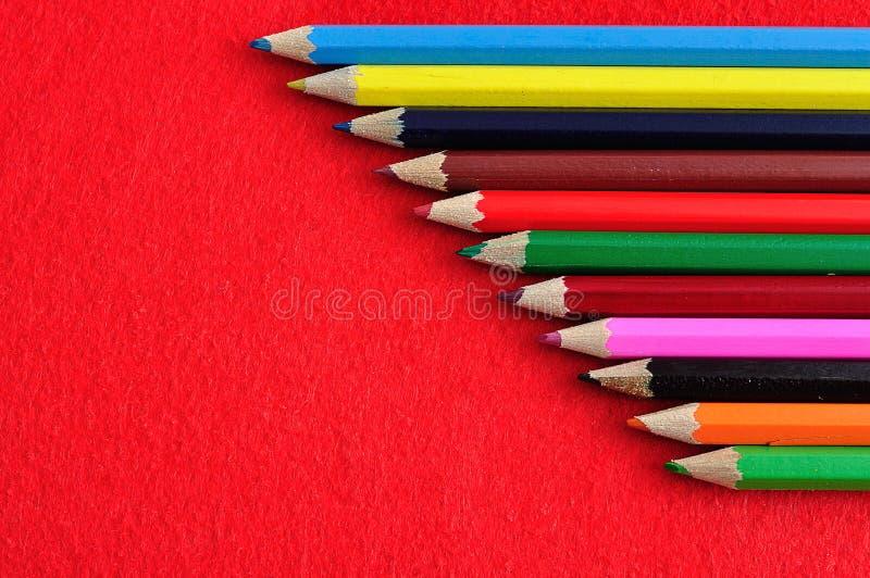 Potência de flor - lápis fotos de stock
