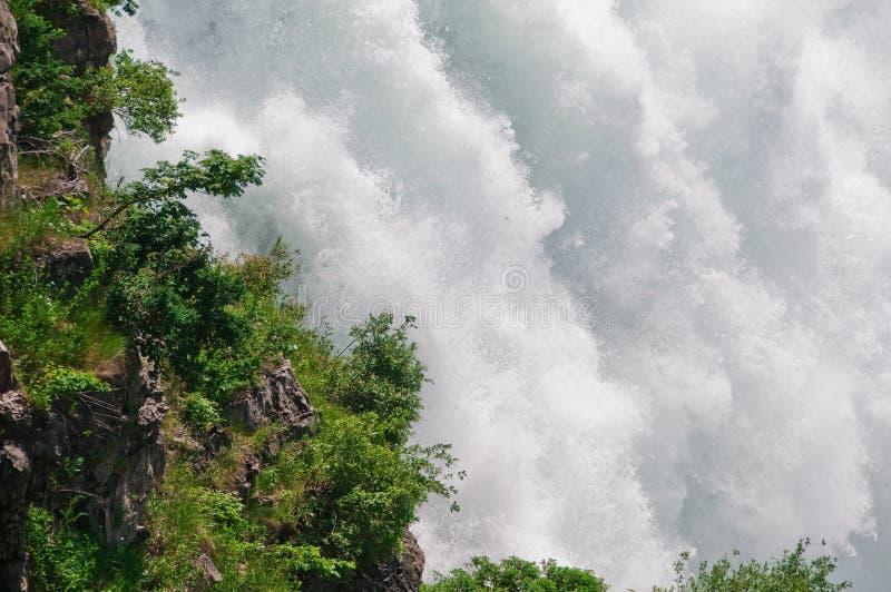 A potência de Niagara Falls fotos de stock royalty free