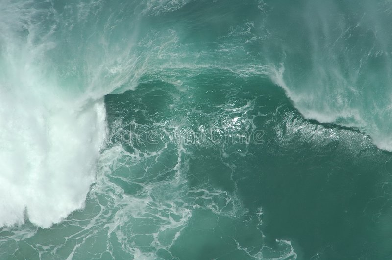 Potência de onda fotografia de stock royalty free