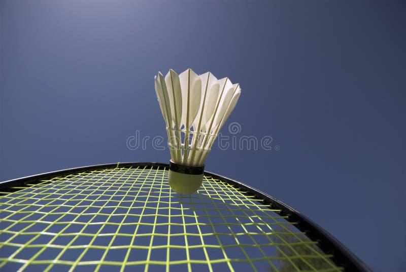 Potência do Badminton fotografia de stock