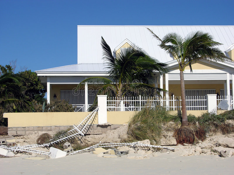 Potência do furacão fotografia de stock royalty free