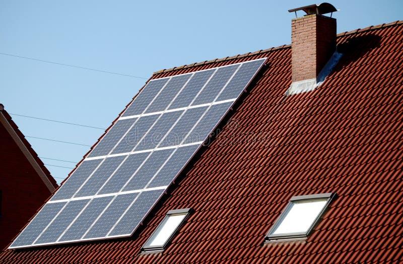 Potência solar imagem de stock