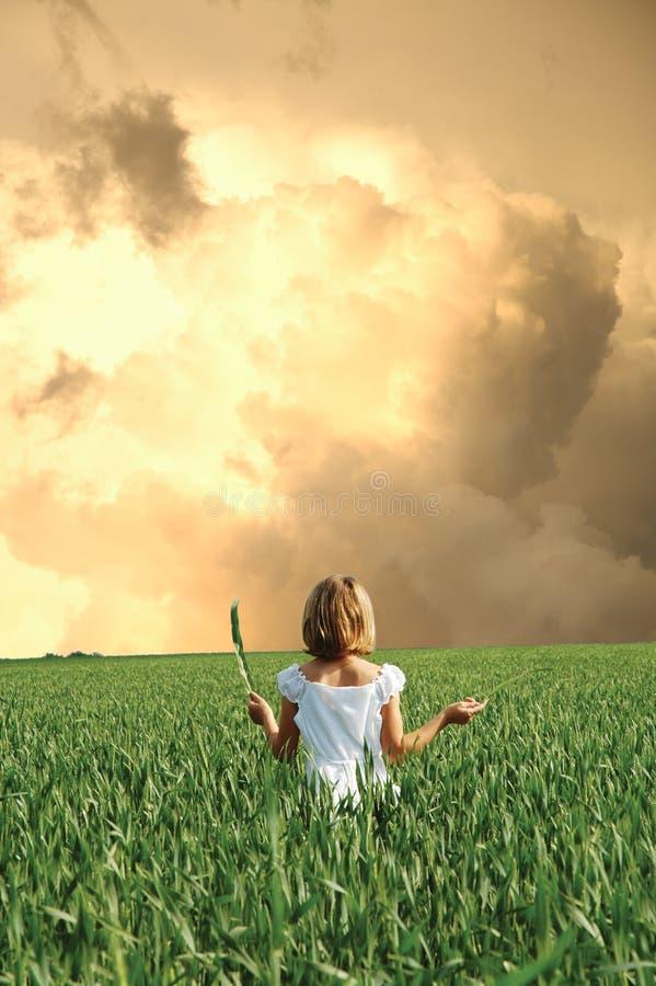 potężna burza obrazy stock