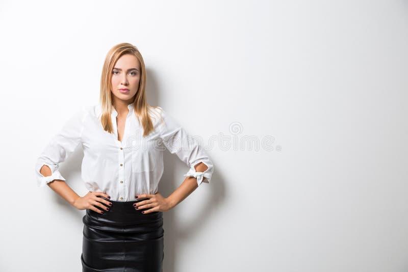 Potężna dama obrazy stock