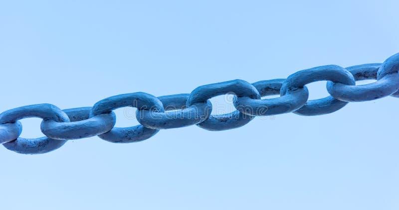 Potężny żelazo łańcuch zdjęcie royalty free