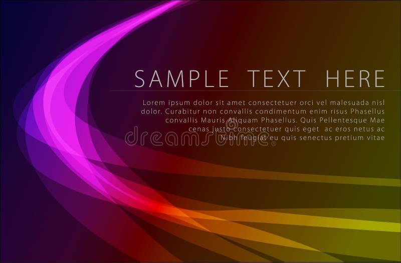 Download Potężny Abstrakcjonistyczny Tło Ilustracja Wektor - Ilustracja złożonej z iluminuje, władza: 13326515