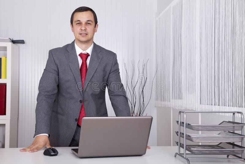 potężny biznesmena biuro zdjęcia royalty free